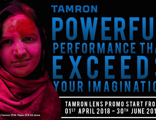 Tamron Lens Redemption Program 1st April to 30 June 2018