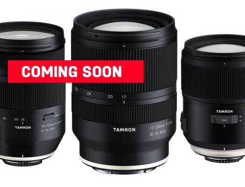 Tamron announces the development of three lenses – two for full-frame DSLRs and one for full-frame mirrorless cameras