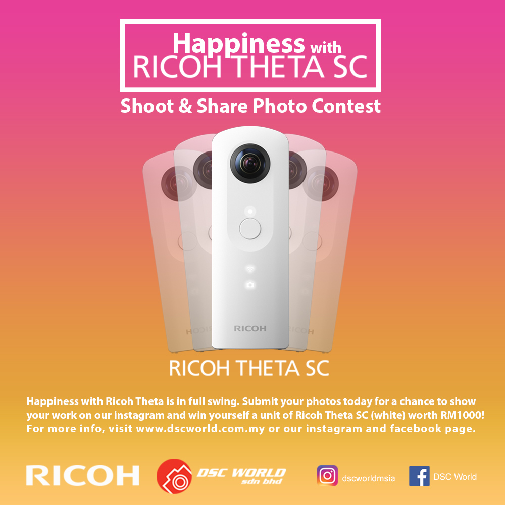 RICOH THETA SC Shoot & Share Photo Contest